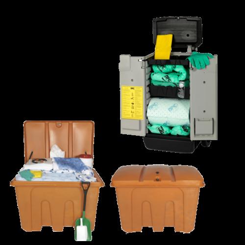 Keskkonnaohutus - Sorbentide konteinerid