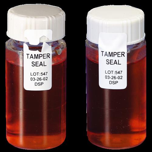 Etiketid - Laboripudelite garantiikleebised