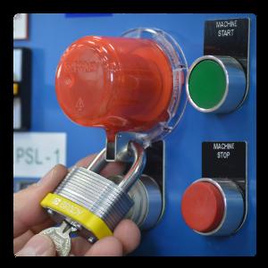 Lockout/Tagout - Lukusta ja märgista nuppudele