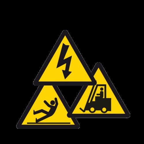 Ohutusmärgid - Hoiatusmärgid