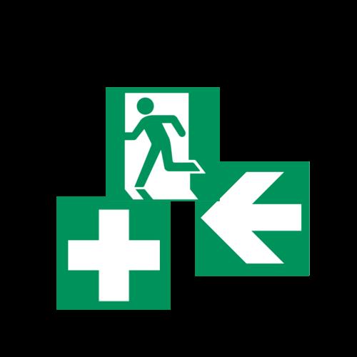 Ohutusmärgid - Evakuatsioonimärgid