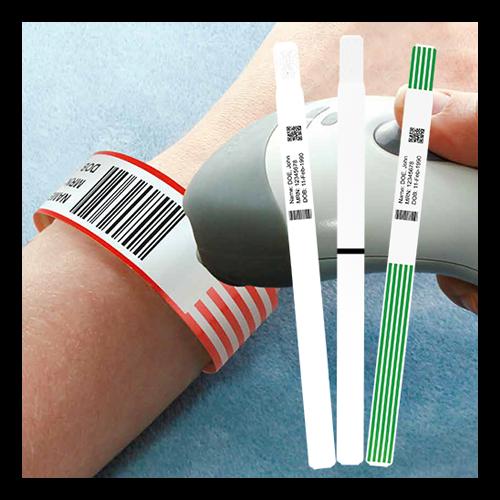 Termoprinteri käepaelad haiglatele